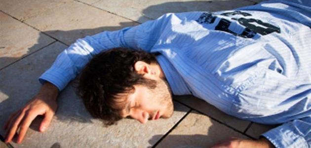 أعراض فقدان الوعي