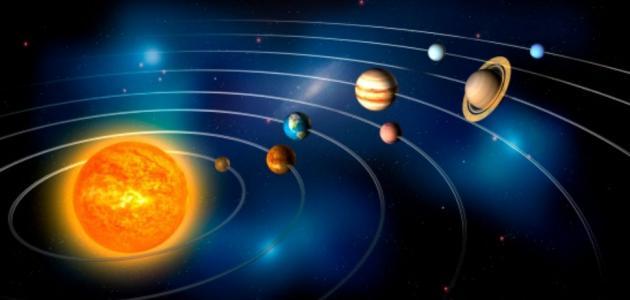 بعد الكواكب عن الشمس