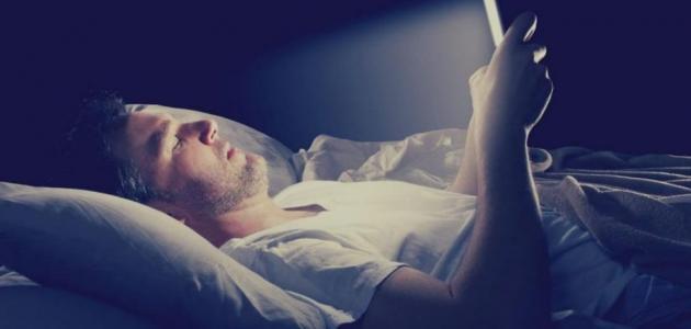 أضرار النوم المتأخر