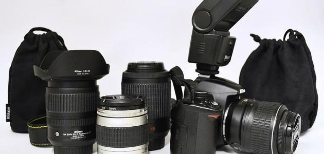 أنواع عدسات الكاميرا
