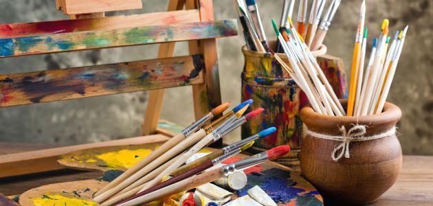 أدوات الرسم على الماء