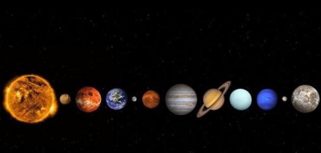 أين يقع كوكب الأرض