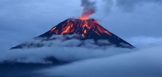 أكبر بركان على وجه الأرض