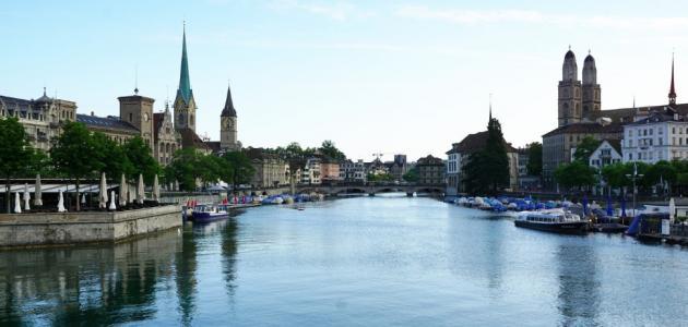 أكبر مدينة من حيث العدد في سويسرا