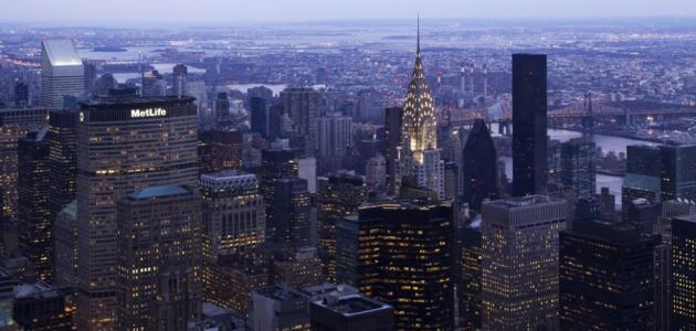 أين تقع مدينة نيويورك