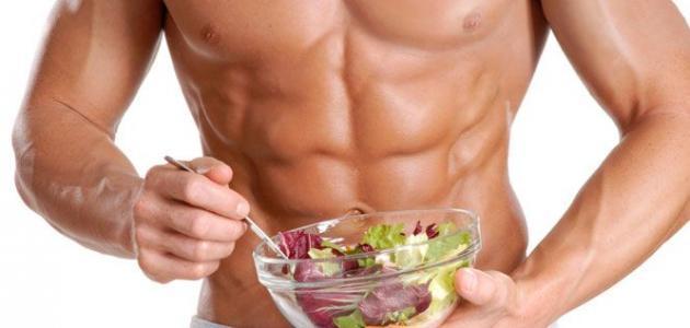 أفضل عشرة أطعمة لبناء العضلات