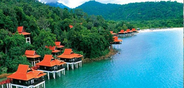 أين تقع جزيرة لنكاوي في ماليزيا