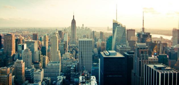 أين تقع نيويورك على الخريطة