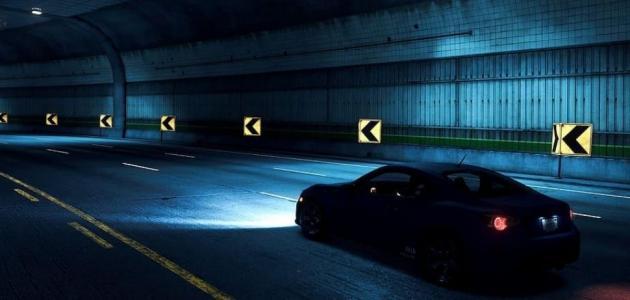نصائح عند القيادة في الليل