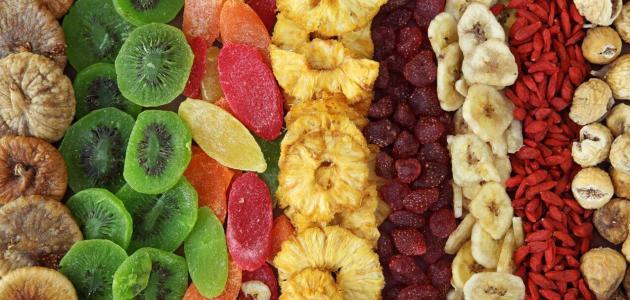 هل تعد الفواكه المجففة صحية؟