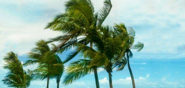الدعاء عند اشتداد الرياح