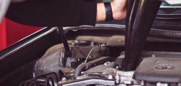 نقص زيت المحرك