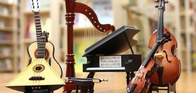 أدوات الموسيقى