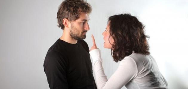 خجل المراة من الرجل