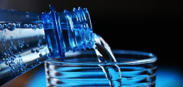 طريقة شرب الماء