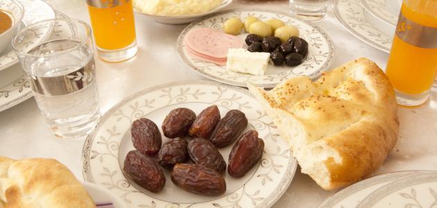 نقص الوزن في رمضان