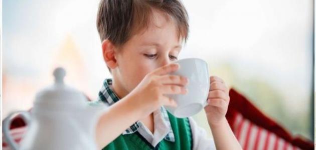 فوائد الشاي للاطفال