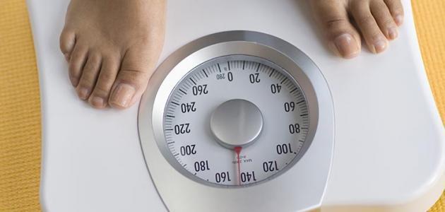 طريقة إنزال الوزن