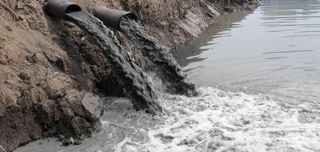 الأسباب المؤدية لتلوث المياه