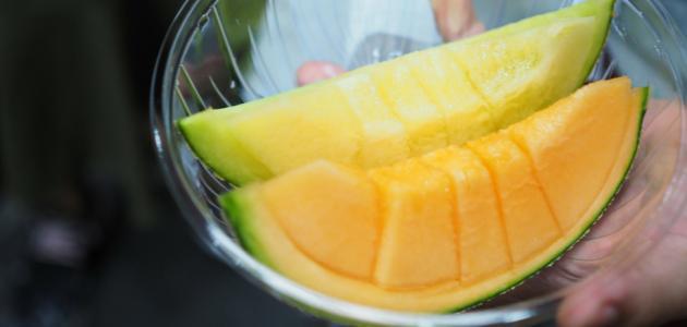 فوائد البطيخ الاصفر للرجيم