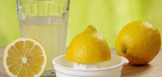 الماء والليمون لإنقاص الوزن