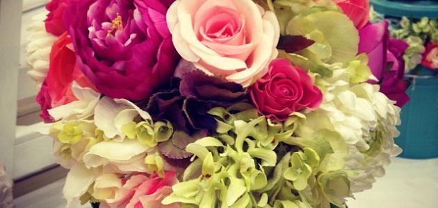 أسماء الزهور وأشكالها