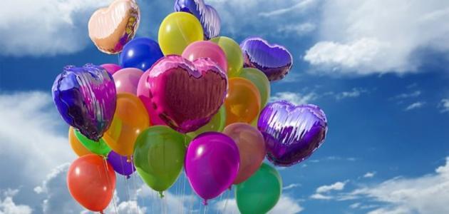 طريقة تزيين البالونات