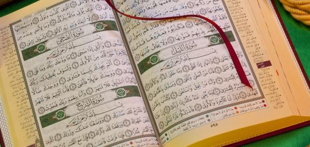 القرآن الكريم: عدد سوره وآياته وحروفه وأحزابه