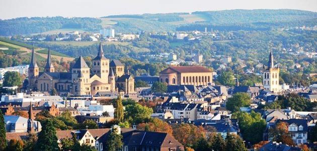 مدينة ترير الألمانية