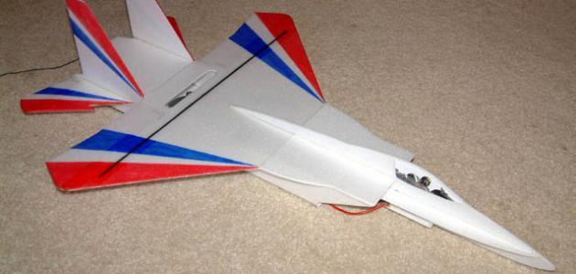 طريقة صنع طائرة لاسلكية