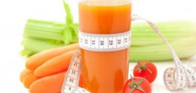 فوائد الجزر في إنقاص الوزن