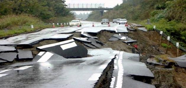 كيفية حدوث الزلازل
