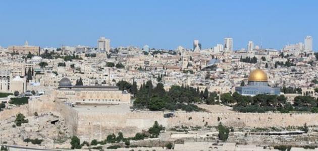 حديث عن فلسطين