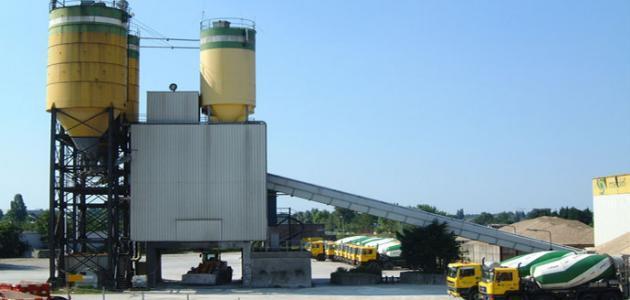 مراحل صناعة الاسمنت
