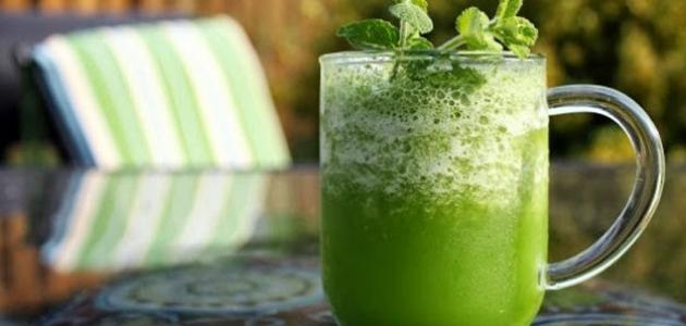 فوائد شرب عصير الجرجير للشعر