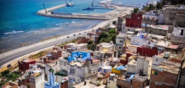 مدينة طنجة في المغرب