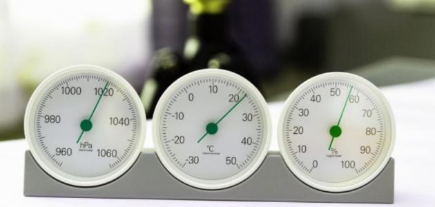 بحث حول الضغط الجوي